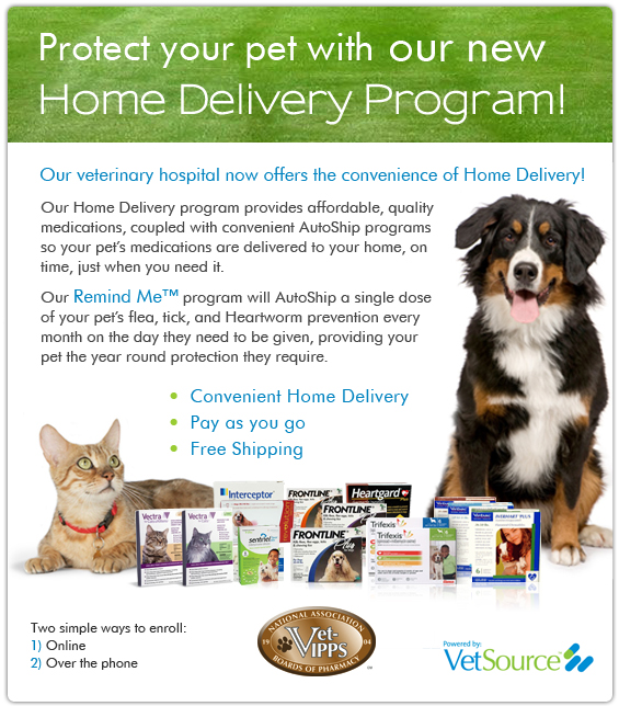 Home delivery program